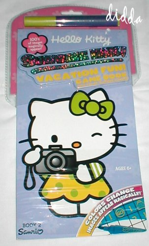Book 2! Hello Kitty Surprize Ink! Vacation Fun! Game Book with Color-change Marker - Buy Book 2! Hello Kitty Surprize Ink! Vacation Fun! Game Book with Color-change Marker - Purchase Book 2! Hello Kitty Surprize Ink! Vacation Fun! Game Book with Color-change Marker (Hello Kitty, Toys & Games,Categories,Arts & Crafts,Drawing & Sketch Pads)
