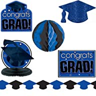 Blue Graduation Decorating Kit per kit