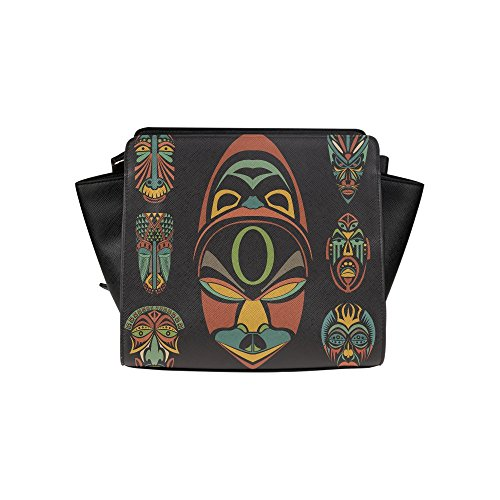 meincare-womens-african-ethnic-tribal-masks-pu-leather-satchel-bag
