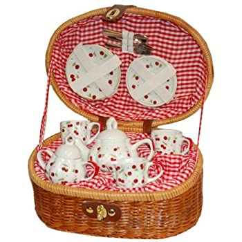 Red Cherry Child's Tea Set
