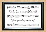 30 Seconds To Mars 'From Yesterday' Song Sheet Lyrical Art Print A4 Size