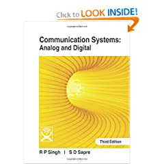 Communication Systems: Analog And Digital [Paperback] available at Amazon for Rs.358
