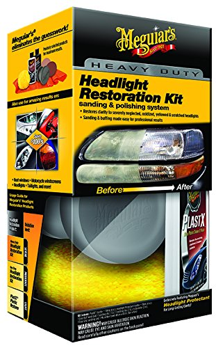 Meguiar's G3000 Heavy Duty Headlight Restoration Kit (Auto Lense Cleaner compare prices)
