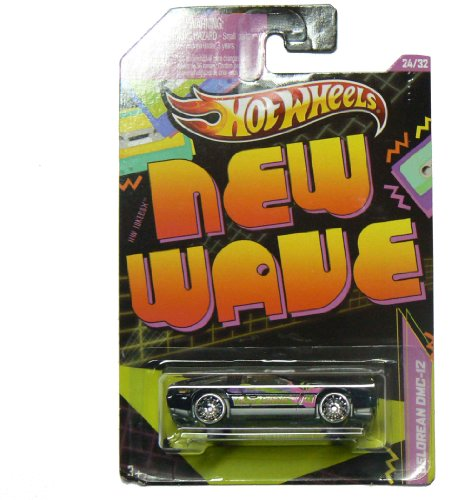 Hot Wheels - New Wave 24/32 - DeLorean DMC-12 - 1