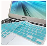 GMYLE(R) Turquoise Blue Silicon Keyboard Cover (US Layout) for Samsung ARM 11.6