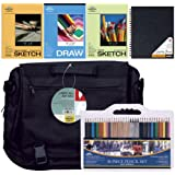 "Pro Art ""Art on the Go"" Drawing Set, 41-Piece"