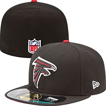 NFL Mens Atlanta Falcons On Field 5950 Game Cap By New Era by New Era