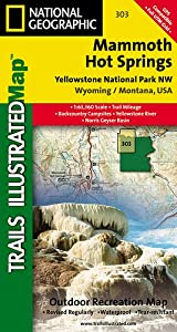 TI Map #303- Yellowstone Northwest/Mammoth Hot Springs