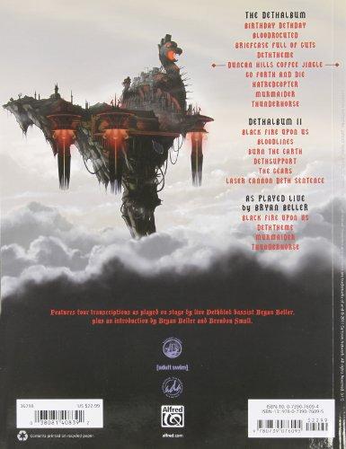 Dethklok Bass Anthology: Metalpocalypse (Authentic Bass Tab Editions)