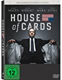 DVD - House of Cards - Die komplette erste Season [4 DVDs]
