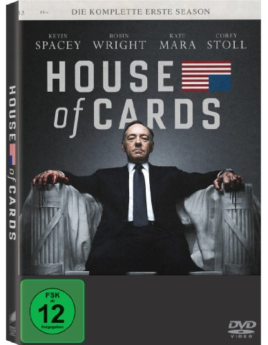 House of Cards - Season 1 (inkl. Digital Ultraviolet) [Alemania] [DVD]