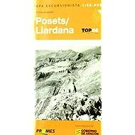 Mapa excursionista posets-llardana (Top 25 (prames))