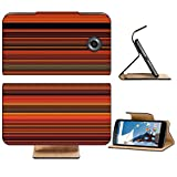 Liili Premium Motorola Google Nexus 6 Flip Pu Leather Wallet Case Abstract striped digital bright background Photo 20958593 Simple Snap Carrying