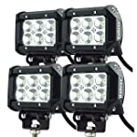 Kohree� Lot de 4 Projecteur LED 18W F...