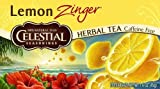 Celestial Seasonings Lemon Zinger Herb Tea ( 6x20 BAG)