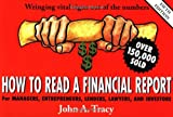How to Read A Financial Report (0471327069) by John A. Tracy CPA