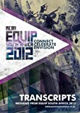 img - for EQUIP South Africa 2012 Transcripts book / textbook / text book