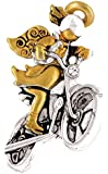 Wings and Wishes Angel Tac Pin, Motorcycle Angel