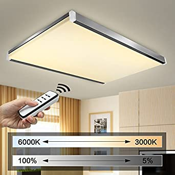 natsen led deckenlampe wandlampe i502 100w warmwei kaltwei neutralwei mit fernbedienung. Black Bedroom Furniture Sets. Home Design Ideas