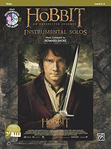 The Hobbit -- An Unexpected Journey Instrumental Solos for Strings: Viola, Book & CD