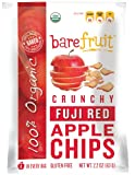 Bare Fruit Organic, Gluten Free Baked Apple Chips, Fuji, 2.2-Ounce Bags (Pack of 12)