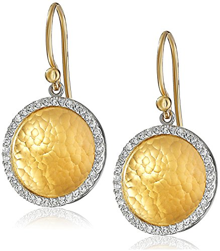 GURHAN-Hourglass-Yellow-Gold-and-White-Diamond-Dangle-Earrings-38-cttw-H-I-Color-SI2-I1-Clarity