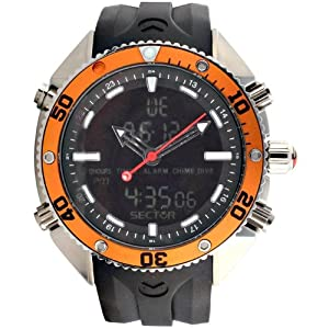 Sector men 39 s watch r3251967115 in collection dive master - Sector dive master ...