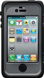 OtterBox Armor Series Waterproof Case for iPhone 4/4S - Retail Packaging - Blue Grey