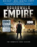 Boardwalk Empire: The Complete First Season [Blu-ray + DVD + Digital Copy]