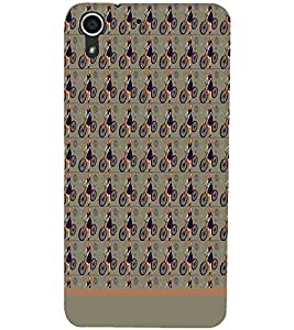HTC DESIRE 728 PATTERN Designer Back Cover Case By PRINTSWAG