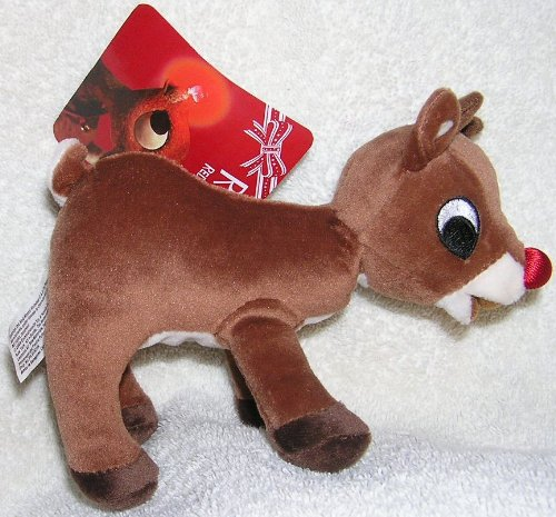 Stuffed Rudolph the Red Nosed Reindeer Toy