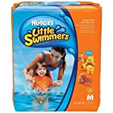 Huggies Little Swimmers Disposable Swimpants (Character May Vary), Medium 25 Count (Medium)