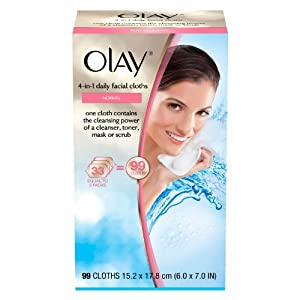 Olay 4-in-1 Daily Facial Cloths - Normal - 99 ct.