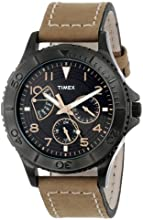 "Timex Men's T2P040KW ""Ameritus"" Watch with Leather Band"