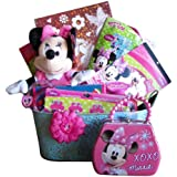 Minnie Mouse Gift Basket, Fun for Girls 3-8