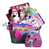Minnie Mouse Get Well, Birthday Gift Baskets for Girls