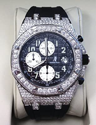 Audemars Piguet Royal Oak Offshore Mens Watch (Approximately 12 Carats of SI1/VS2 GH Diamonds) from Audemars Piguet