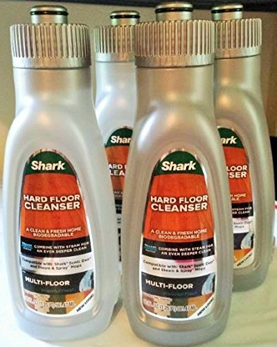 Shark Steam Energized Multi-Floor Cleanser 20 Oz | 4-pack (Steam Cleanser compare prices)
