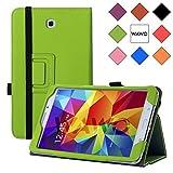 WAWO Samsung Galaxy Tab 4 8.0 Inch Tablet Smart Cover Creative Folio Case - Green
