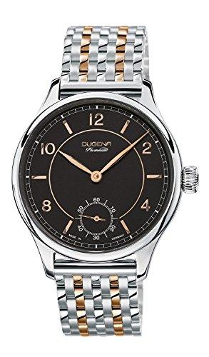 Dugena 7090115 - Reloj de pulsera hombre, Acero inoxidable, color Plateado