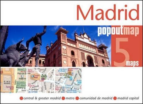 Madrid Popout Map (Popout Maps)