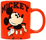 Silver Buffalo DL0632 Disney Mickey Classic Pose Ceramic Mug, 14 oz., Red