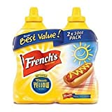 French's Classic Yellow Mustard (30 oz. bottle, 2 ct.) (pack of 2)