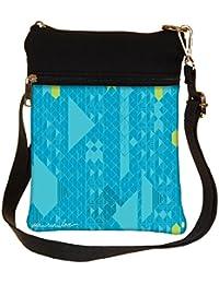 Snoogg Yoga Run Love Cross Body Tote Bag / Shoulder Sling Carry Bag