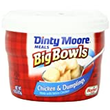 Dinty Moore Big Bowls Chicken & Dumplings, 15-Ounce Microwavable Bowls (Pack of 8) by Dinty Moore