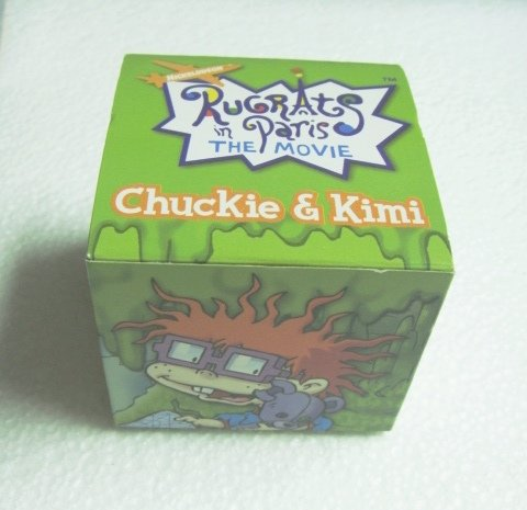 Rugrats Chatback Watches-Rugrats in Paris Chuckie & Kimi - 1