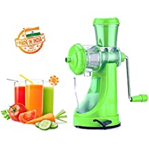 Eco Alpine Plastic Fruits & Vegetable Juicer With Steel Handle,Green Colour