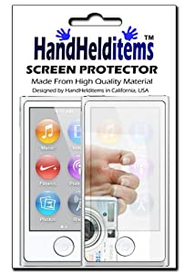 HHI Mirror Reflect Screen Protector for iPod Nano 7th Generation (Package include a HandHelditems Sketch Stylus Pen)