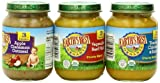 Earths Best Organic Third Food Three Flavor Variety Pack, 6 Ounce Jars (Pack of 12)
