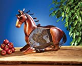 Deco Breeze Decorative Figurine Table Fan, Horse, 18-Inch Tall by 19-Inch Wide